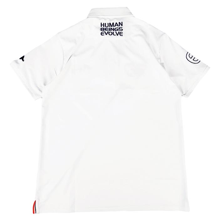 rough&swell ラフアンドスウェル EVOLVE TOUR POLO ポロシャツ ホワイト RSM-20002 / ゴルフウェア