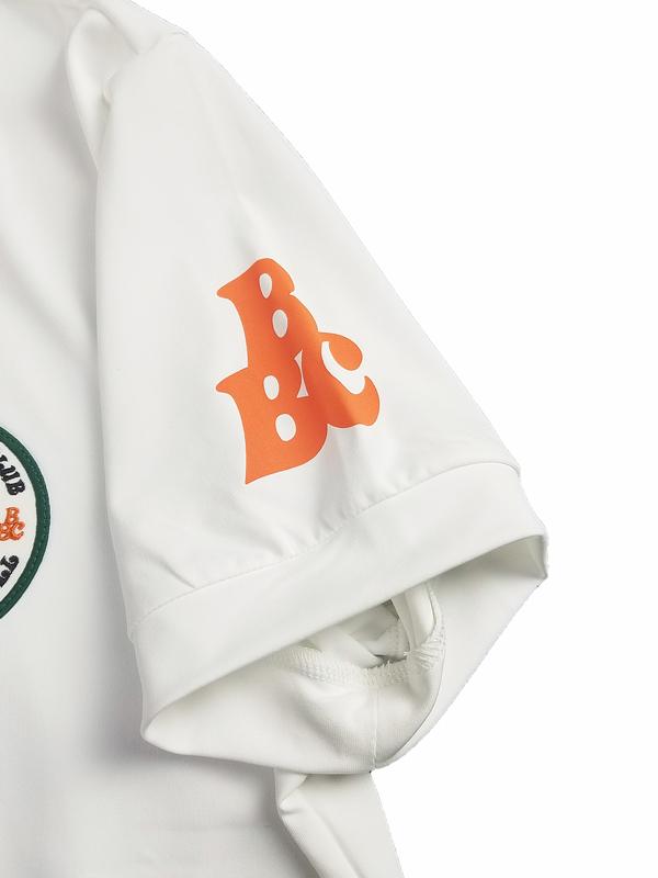 rough&swell ラフアンドスウェル B.B.C. SKIPPER ポロシャツ ホワイト RSM-21040 / ゴルフウェア メンズ ラフ&スウェル