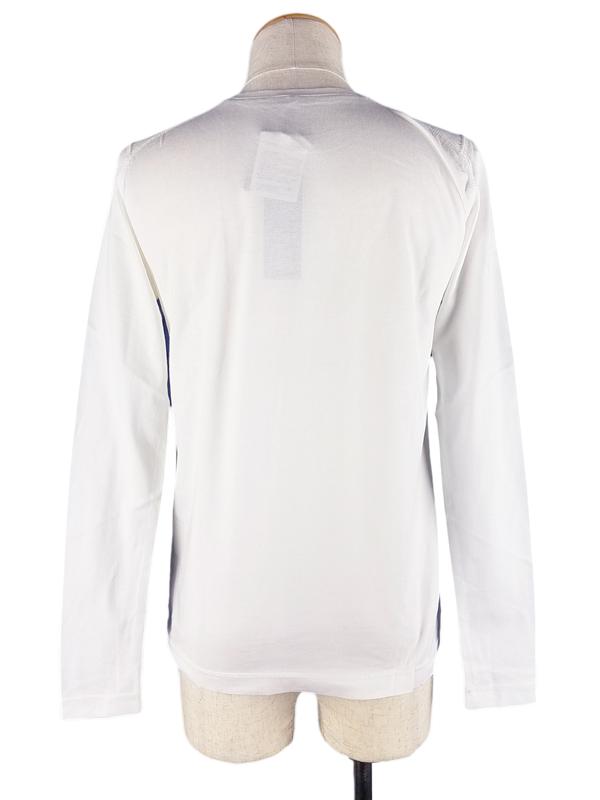 Montsuki モンツキ 長袖Tシャツ ホワイト 07-081-05 / ロンT