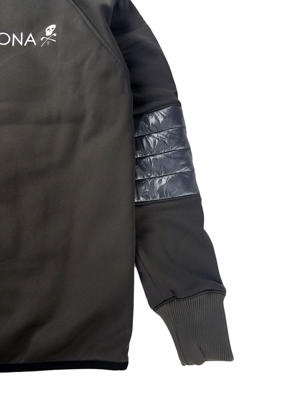 MARK&LONA マークアンドロナ Fairfax Puffy Jacket   MEN 中綿ブルゾン グレー MLM-0C-AD09