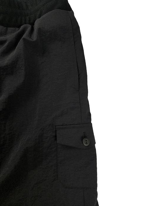 UNDERCOVER アンダーカバー Ny タフタトラックパンツ Zerstoren  ブラック UC1A4512-2