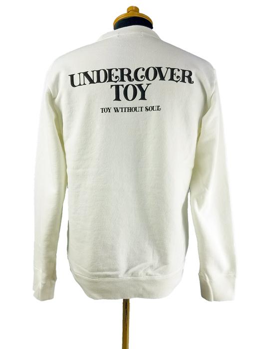 UNDERCOVER アンダーカバー SWEAT SCREW BEAR UC TOY  ホワイト UC1A4891-2
