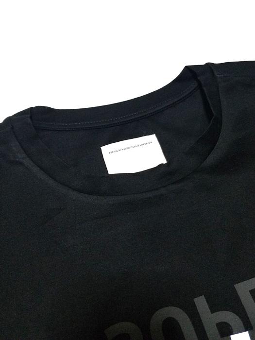 P.M.D.S. ピーエムディーエス Tシャツ ブラック 910591384028 ZEPH/819TSO / PMDS