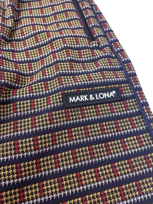 MARK&LONA マークアンドロナ Submotion strech Pants   MEN ストレッチジャカードパンツ ベージュ MLM-0C-AT04