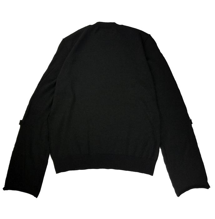 UNDERCOVER アンダーカバー ハイゲージボンデッジウールニット  ブラック UC1A4904-2