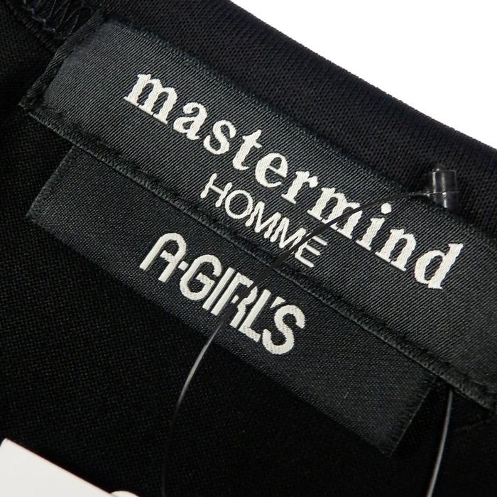 mastermind マスターマインド プリントTシャツ ブラック 16SSMMF-TS18-015-2