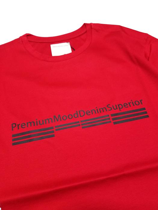 P.M.D.S. ピーエムディーエス Tシャツ レッド 910591384029 POST/675TSO / PMDS