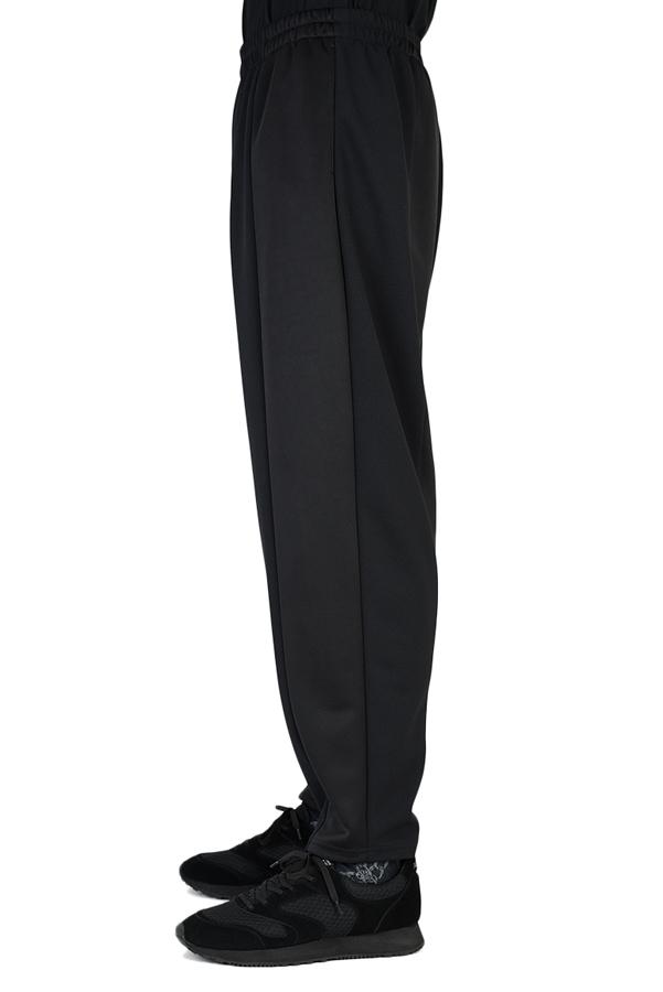 LAD MUSICIAN ラッドミュージシャン TAPERED WIDE PANTS テーパードワイドパンツ ブラック 2120-651 / パンツ
