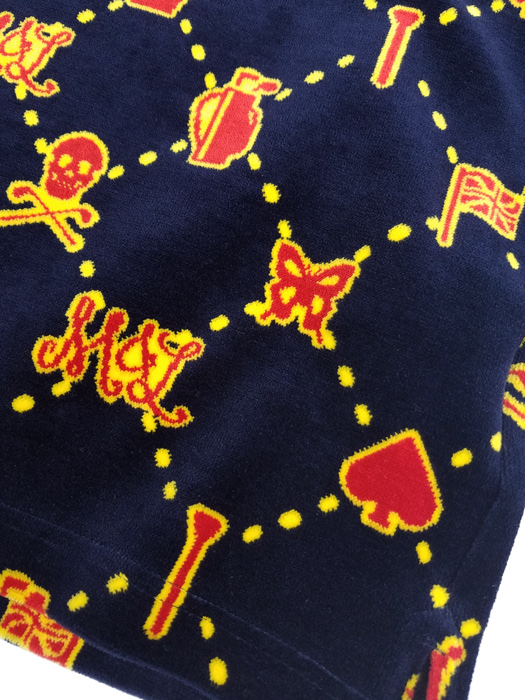 MARK&LONA マークアンドロナ ポロシャツ ネイビー Unite Velour Polo   MEN MLM-9C-AP09