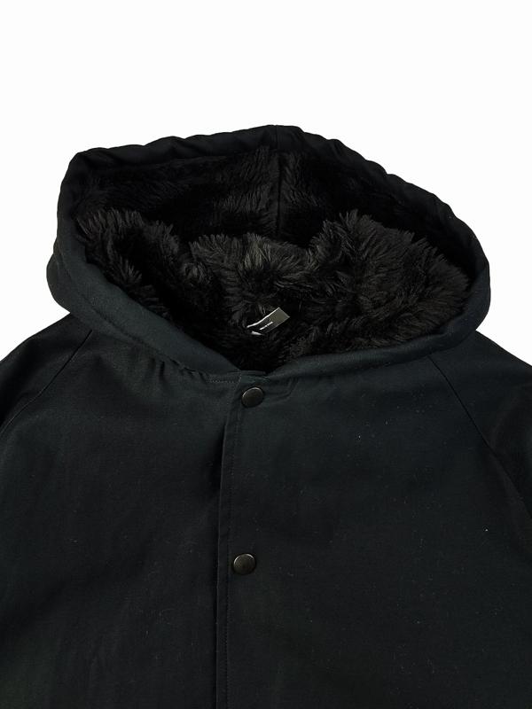 STAMPD スタンプド オーバーコート ブラック Zepplin Overcoat SLA-M2067JK