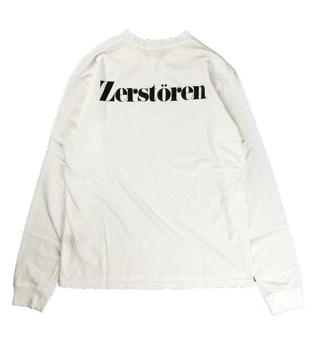 UNDERCOVER アンダーカバー LSTEE Zerstoren  ホワイト UC1A4892-3