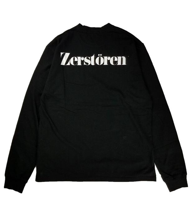 UNDERCOVER アンダーカバー LSTEE Zerstoren  ブラック UC1A4892-3
