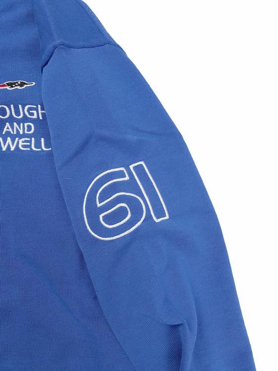 rough&swell ラフアンドスウェル CROWN TOUR V-NECK Vネックニット ブルー RSM-21088 / ゴルフウェア メンズ ラフ&スウェル