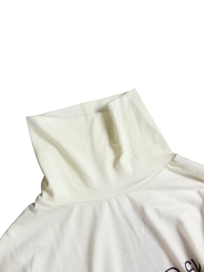 rough&swell ラフアンドスウェル WARM TURTLE タートルネック ホワイト RSM-20222 / ゴルフウェア メンズ ラフ&スウェル
