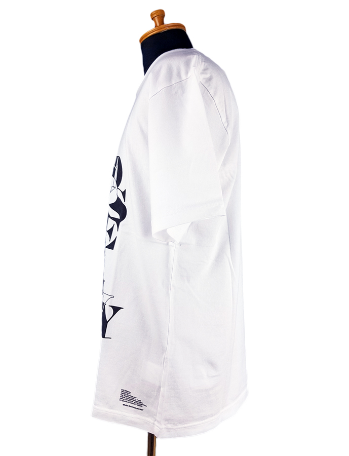 White Mountaineering ホワイトマウンテニアリング PRINTED T-SHIRT 'RANDAM' プリントTシャツ ホワイト WM2071504