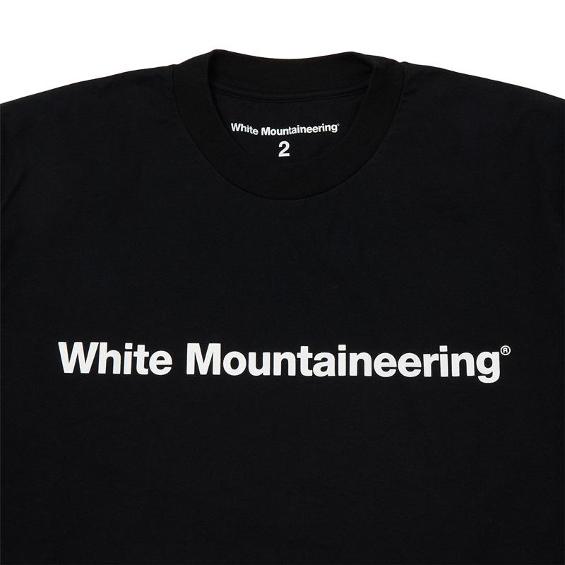 White Mountaineering Repose Wear ホワイトマウンテニアリング WM LOGO PRINTED LONG SLEEVES T-SHIRT ロゴプリント 長袖Tシャツ ブラック RW2171503