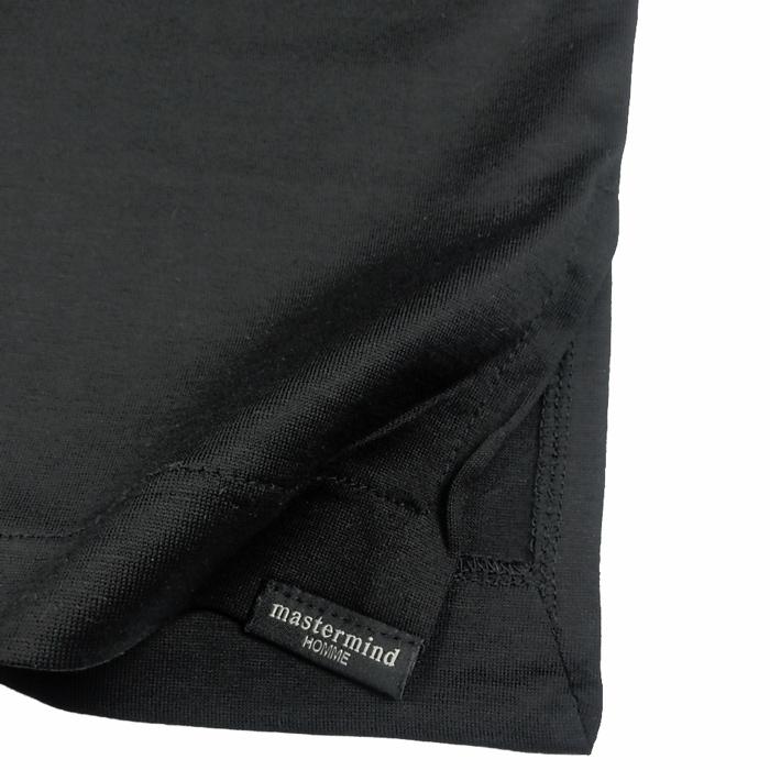 mastermind マスターマインド プリントTシャツ ブラック 16SSMMF-TS17-015-2