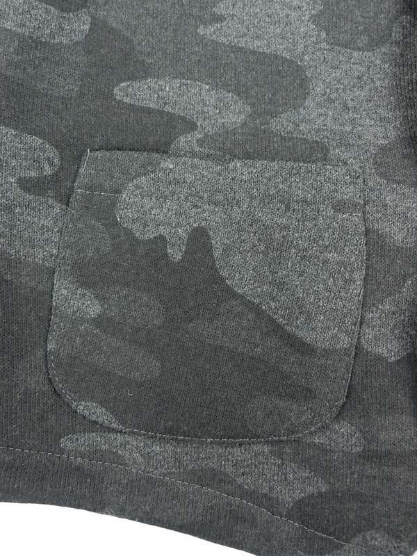 MESSAGERIE メッサジェリエ ニットジャージー カモフラベスト T/8402 168040 004 迷彩