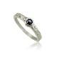 【Ptヘリテージ Black Diaリング】 ハワイアンジュエリー 指輪 ブラックダイヤモンド プラチナ