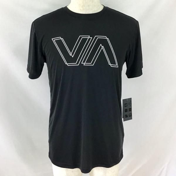RVCA メンズ VA OFFSET SS ラッシュガード