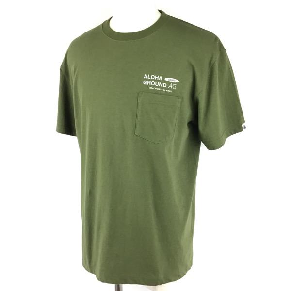 ALOHAGROUND Tシャツ BDA