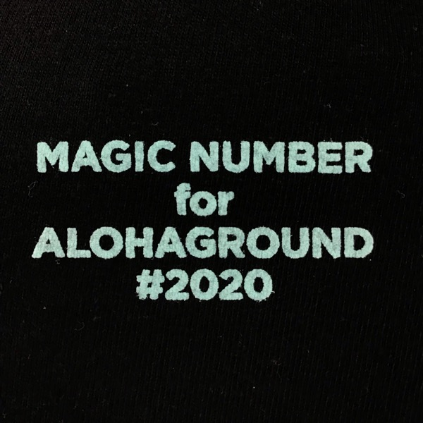 MAGIC NUMBER for ALOHAGROUND limited FAVORITE POINT TEE 限定Tシャツ