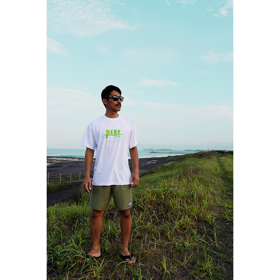 REEF x ALOHAGROUNDコラボ Tシャツ 002