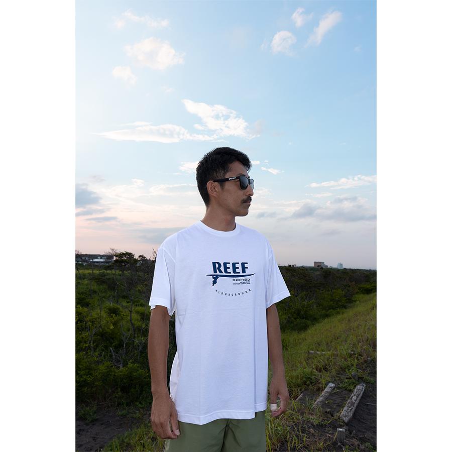 REEF x ALOHAGROUNDコラボ Tシャツ 002