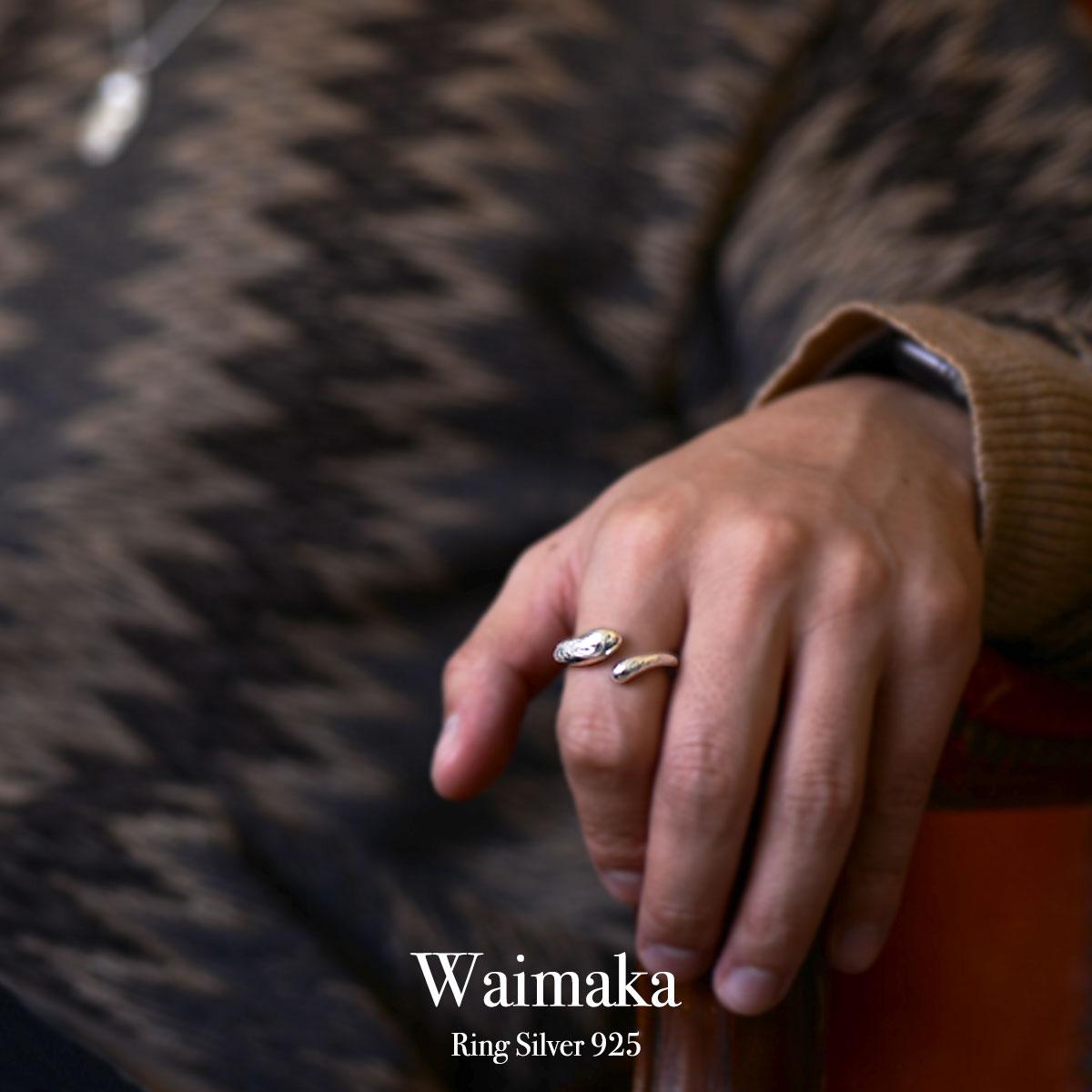 ハワイアンジュエリー シルバー925 SILVER925 silver925 リング 指輪  レディース 女性 メンズ 男性(Weliana) Waimaka ワイマカ リング シルバー 925 wri1520/新作 プレゼント ギフト