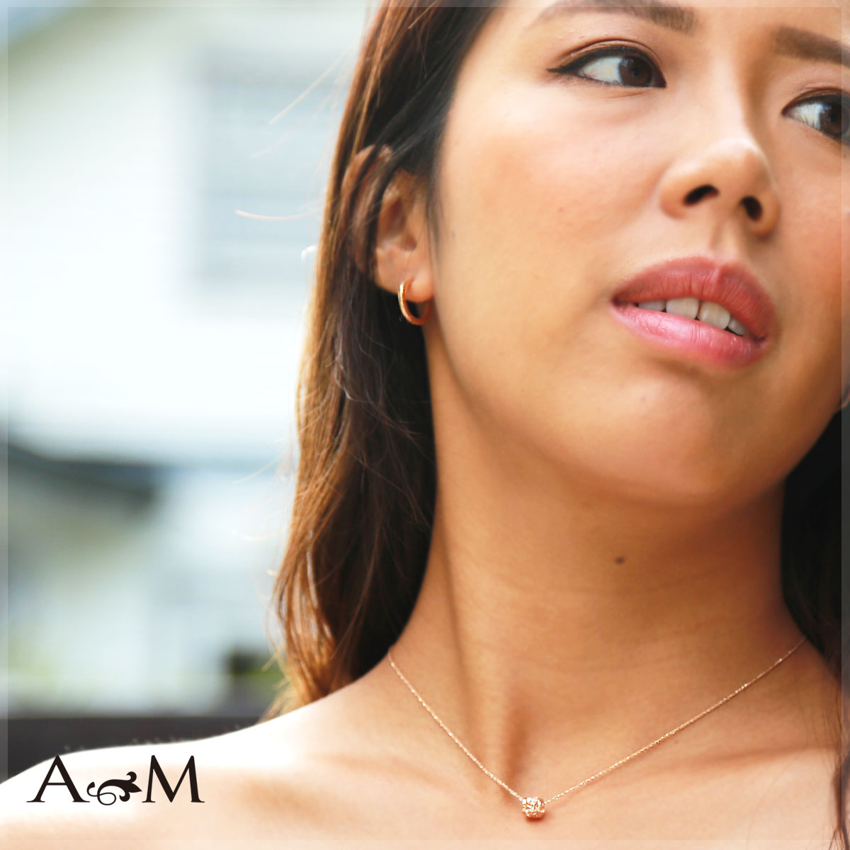 ハワイアンジュエリー ピアス 18金 ピアス 18k フープ ピアス アクセサリー レディース 女性 メンズ 男性 スクロール・フープピアス (K18/ 18金 イエロー ピンク ホワイト) aer1082g