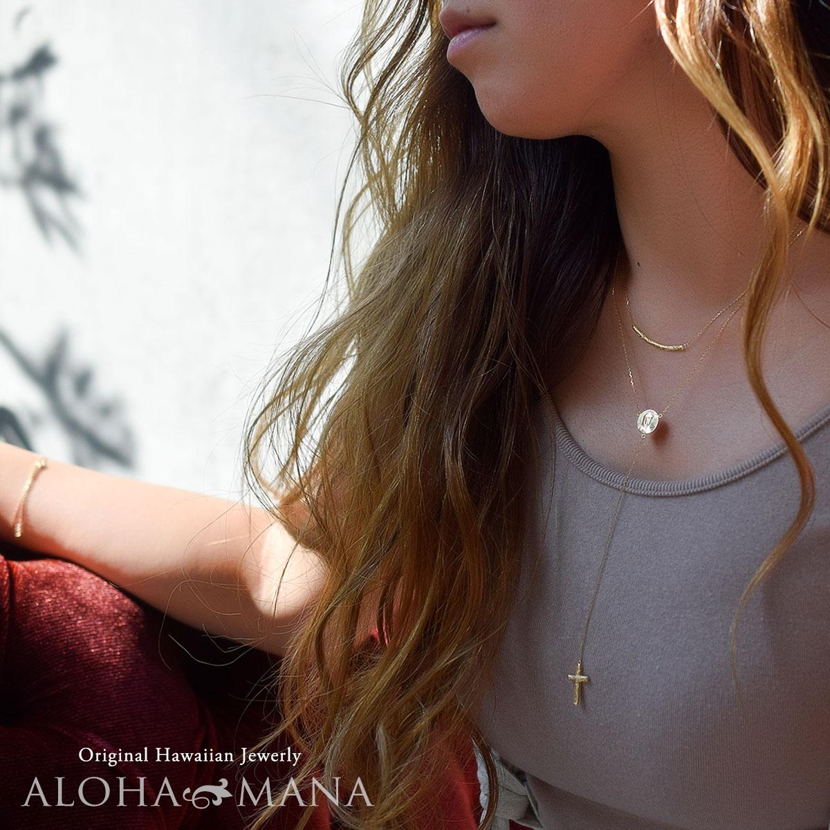 ロザリオ ハワイアンジュエリー アクセサリー レディース 女性 メンズ 男性 K14 ロザリオ wne1527