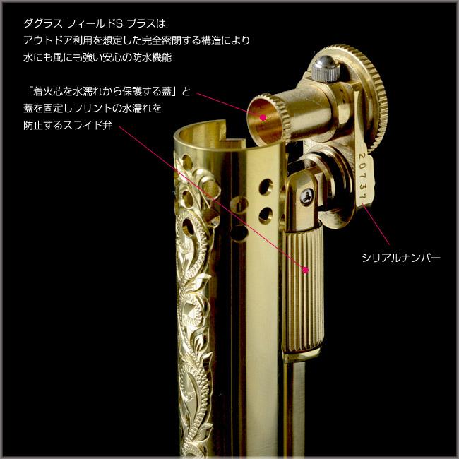 DOUGLASS ダグラス ライター  ハワイアンジュエリー アクセサリー メンズ レディース ブラス Field S フィールドS 日本製 azf1254
