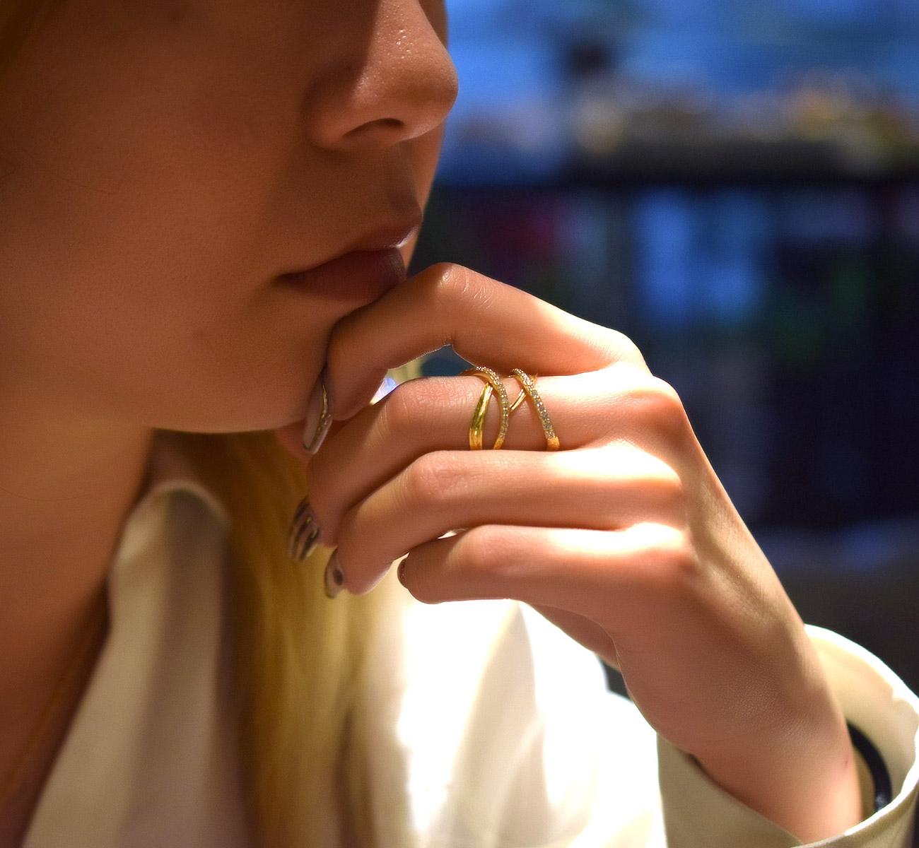 リング 指輪 ハワイアンジュエリーレディース 女性(Weliana) ハワイアンエアルーム エンゲージメントリング ラインストーン ウェディング ダイヤモンド wetk012