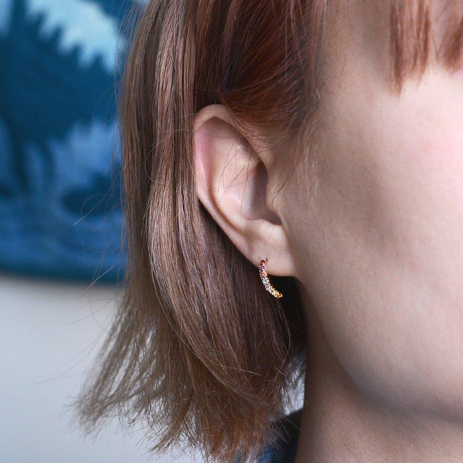 ハワイアンジュエリー (RERALUy)ピアス レディース 女性 アクセサリー 10金 K10 10k ゴールド アミュレット カラーストーン ピアス rpe1537 新作
