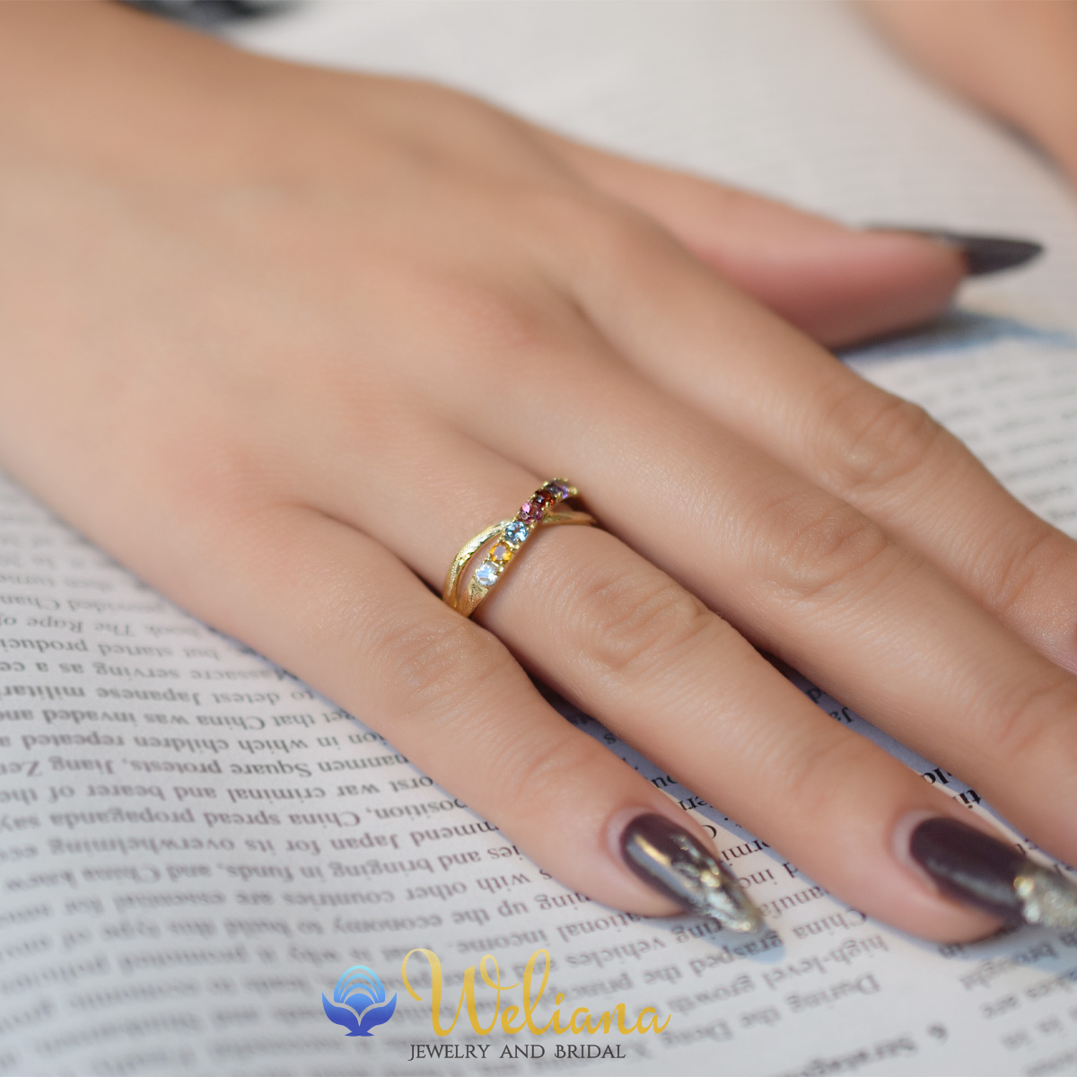ハワイアンジュエリー リング 指輪 K18 ゴールド アミュレット スクロール ゴールドリング/wri1635