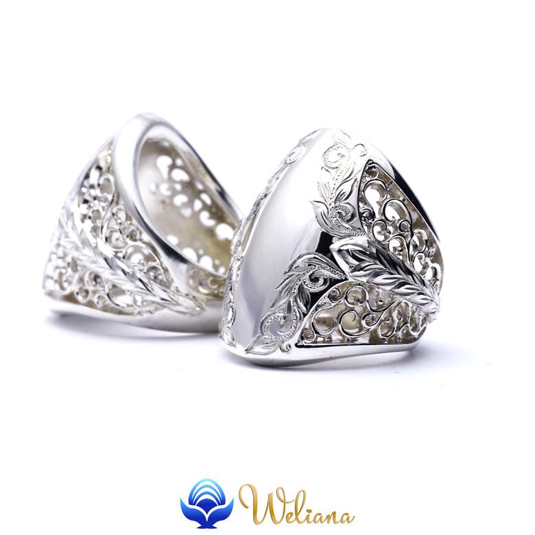 リング 指輪 ハワイアンジュエリー レディース 女性 メンズ 男性 (Weliana) BLOW ブロウ スクロール シルバーリング シルバー 925 wri1468/ 新作