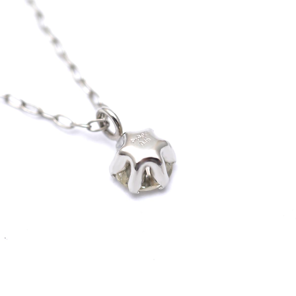 k18ネックレス ハワイアンジュエリー ネックレス 一粒ダイヤネックレス ハワイアンファンシーカラーダイヤモンドネックレス ワイメアサンセット 0.15ct Pt900 K18 (チェーンPt850) ane1618