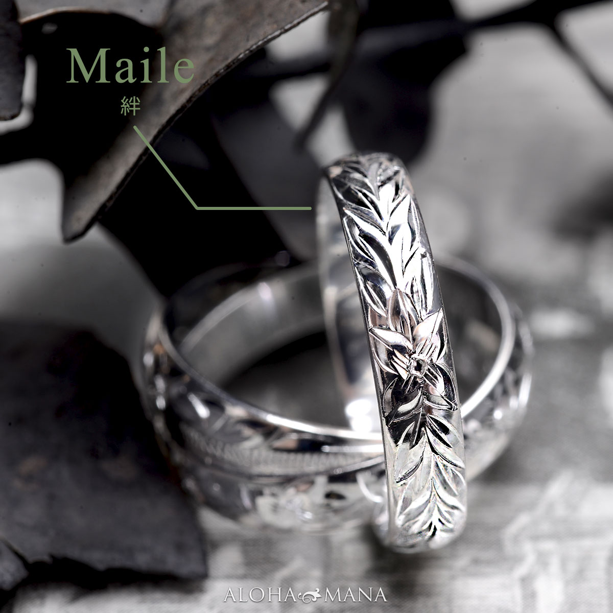 ハワイアンジュエリー ペアリング 指輪  ペアアクセサリー スリーサークル・三連・3連シルバーリング 男性サイズまで豊富なサイズ シルバー925 ambri0758svpair