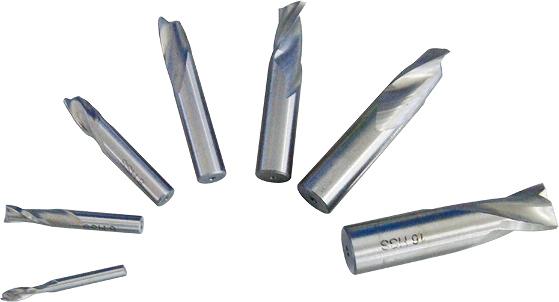 2フルートHSSエンドミル(4,6,8,10,12,14,16mm)7本セット