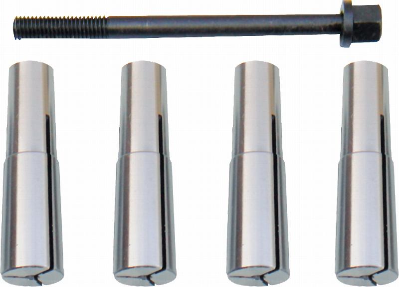 ミルチャックセット(3,4,5,6mm)