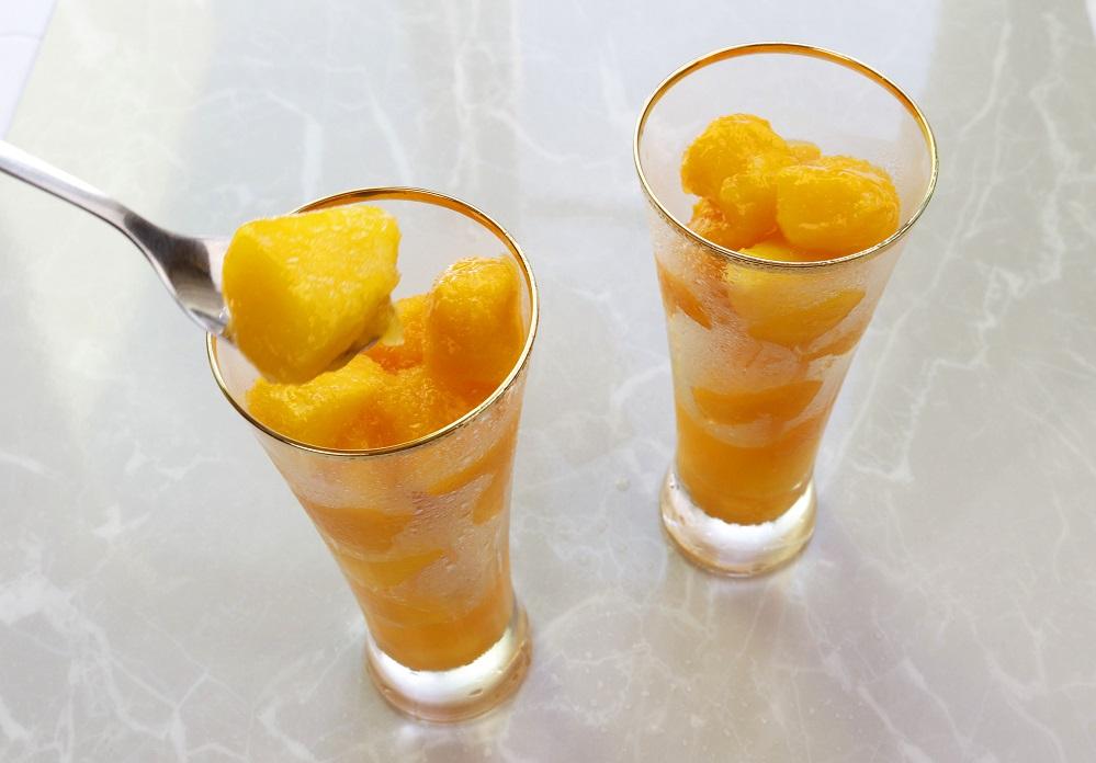 冷凍完熟マンゴー「500g」「アーウィン」