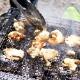 【熊本地鶏】天草大王 バーベキュー用 カット肉(むね・もも) 約1kg