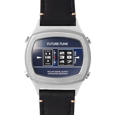 【FUTURE FUNKフューチャーファンク】 FF106-SVNV-LBK (Col.SILVER)