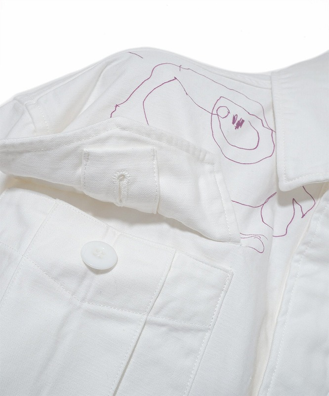 【POINT2倍】【FACETASM ファセッタズム】 FATIGUE JACKET WITH KIDS DRAWING