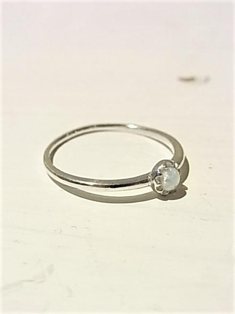 【AMATERA fr.eyアマテラフレイ】 Opal Ring 1220-SR1