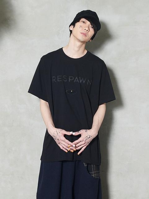 【STORAMAストラマ】 ×鈴木貴雄(UNISON SQUARE GARDEN) Embroidery T-shirts STRM20-13C/RESPAWN(2色)