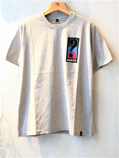 【by PARRAバイパラ】 t-shirt indy tuck knee 42510/BLUE