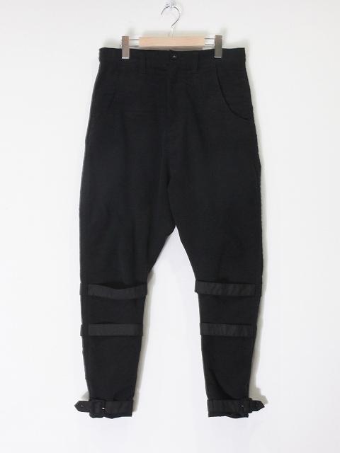 【STORAMAストラマ】 ×鈴木貴雄(UNISON SQUARE GARDEN) Belt skinny pants STRM20-06(2色)