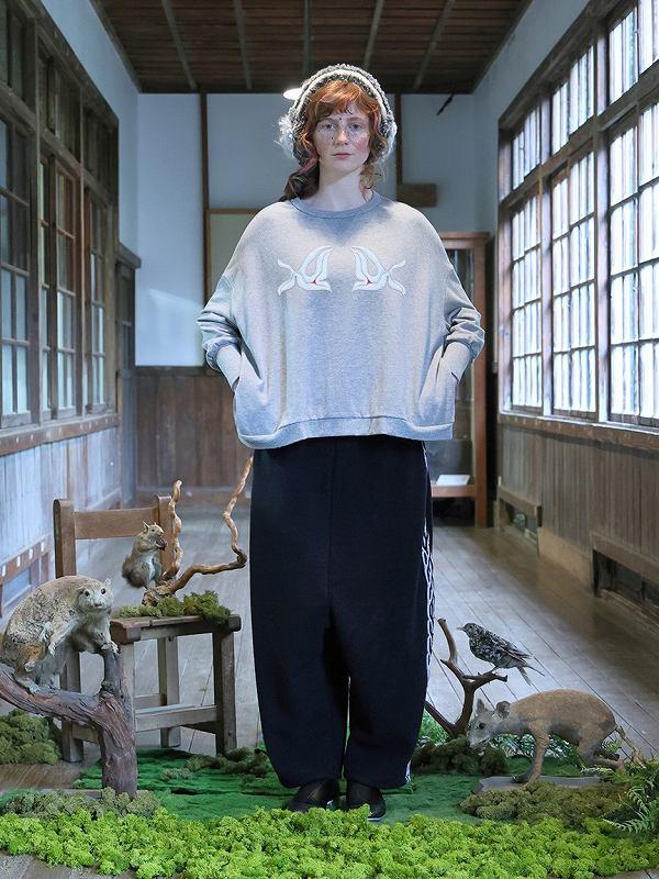 【先行受注】【BEDSIDEDRAMAベッドサイドドラマ】 Grand Jersey Wide Pants bsd21AW-25(2色)