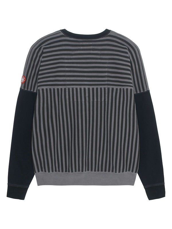 【C.E/CAVEMPT】 OVERDYE STRIPE CREW NECK CES18CS07(2色)